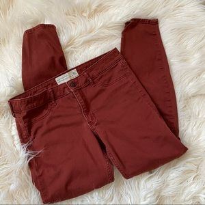 Abercrombie & Fitch neutral jeggings